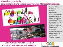 27-06-2018 Mercadillo solidario